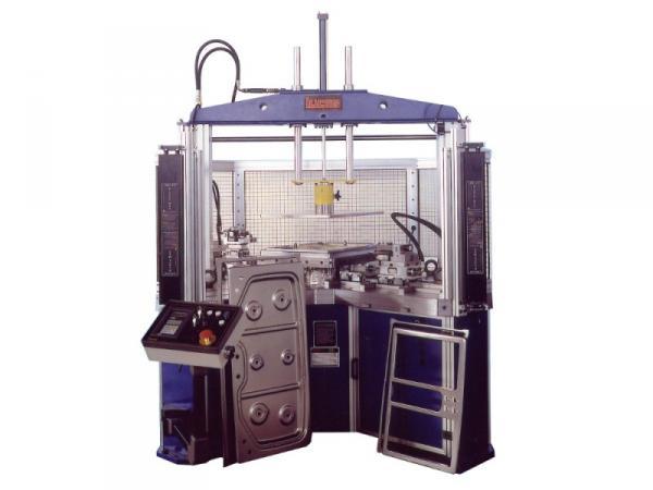 Trimming and forming machine model VBU 1200