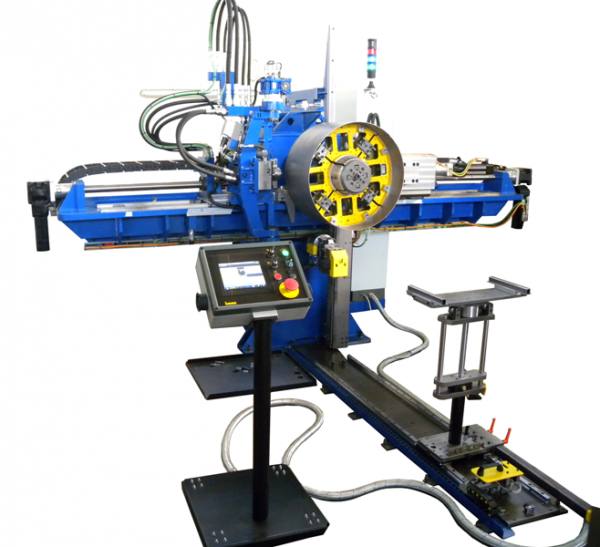 Flanging and punching machine model Rotor 4