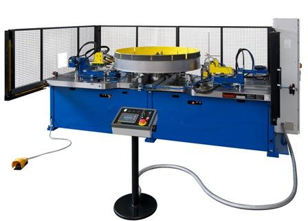 Trimming and forming machine model VBU 2200